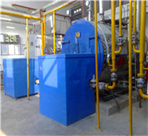 marine horizontal oil fired and exhaust gas boiler thermal