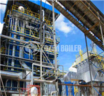industry natural gas steam water tube boiler supplier in