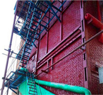 5 ton biogas fired steam boiler