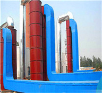 ship fuel hot water normal pressure fire tube boiler supplier