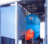 gas oil fired horizontal boiler in asia
