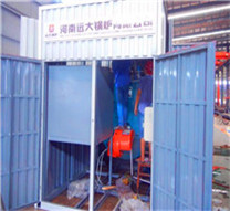 fire tube solid fuel steam boilers
