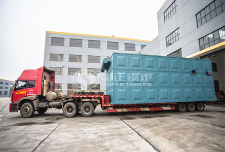 15 million kcal YLW series coal-fired chain grate thermal oil heater project for the pharmaceutical industry